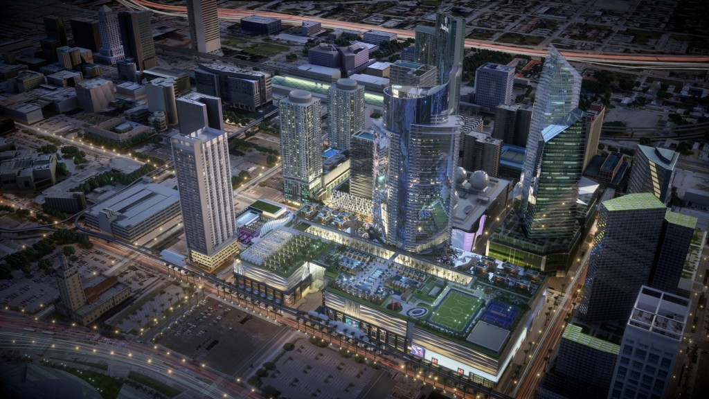 Rendering of Miami Worldcenter