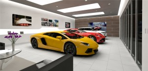 Interior rendering of Gables Auto Vault