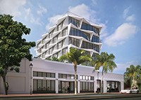 rendering of washington ave hotel