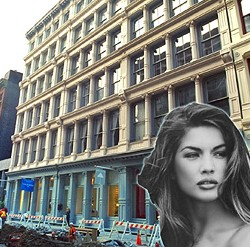 95 Greene Street in Soho and Basia Milewicz