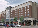 A rendering of the Courtyard by Marriott in Newark