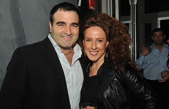 Bruno Ricciotti and woman from Elliman