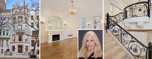 Beverly Cole and her listing at 57 East 64th Street