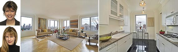 From left: Janice Figueroa, Nancy Lee and 181 East 65th Street
