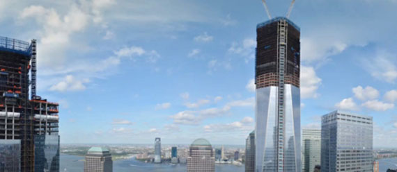 One World Trade Center (second from right)