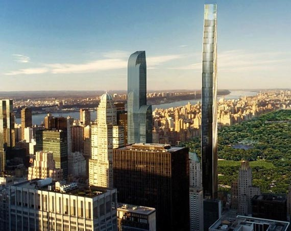 107 West 57th Street rendering