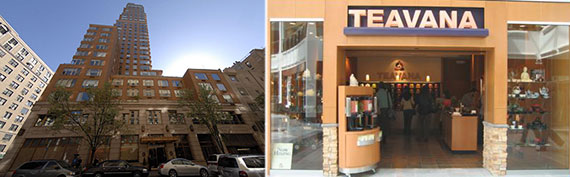 From left: 1142 Madison Avenue and a Teavana location in Nasheville, TN