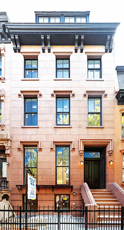 "The ""14 Townhouses"" project in Boerum Hill, which set a neighborhood record"