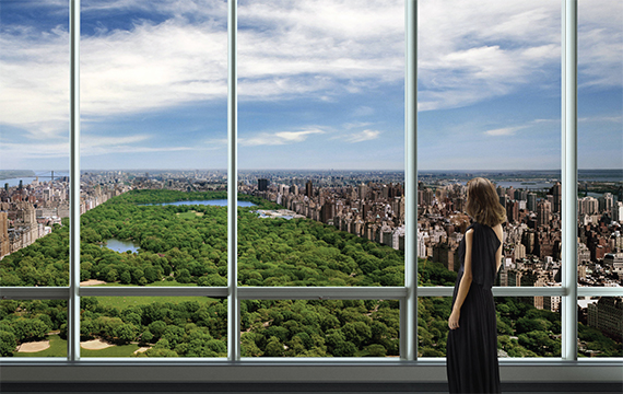 A rendering of One57