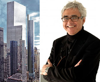 From left: 22 Thames and Rafael Vinoly