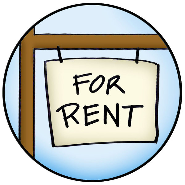 for rent cartoon