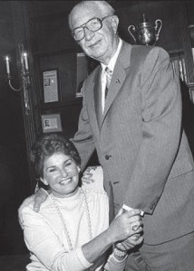 The Helmsleys in 1984. Harry Helmsley died in 1997. Leona Helmsley died in 2007.