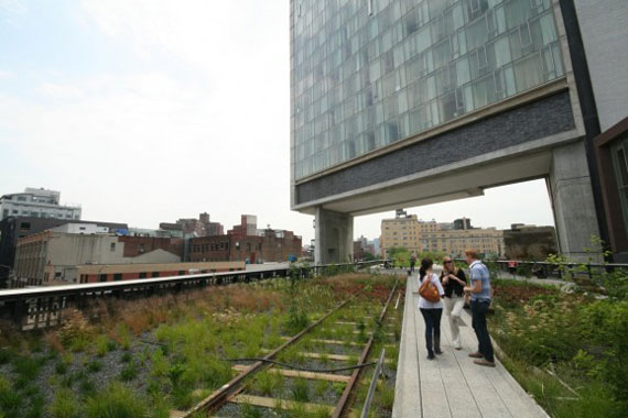 The Standard Hotel on the High Line