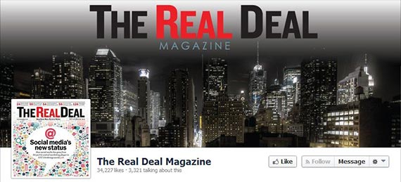 The Real Deal's Facebook page