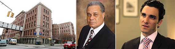 From left: Long Island College Hospital, a partner in Brooklyn Health Partners Merrel Schexnydre and