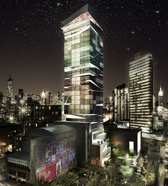 Rendering of 95 Rockwell (Credit: LEESER Architecture)