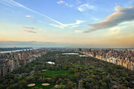 The view from the summit of One57 (Credit: VHT Studios)