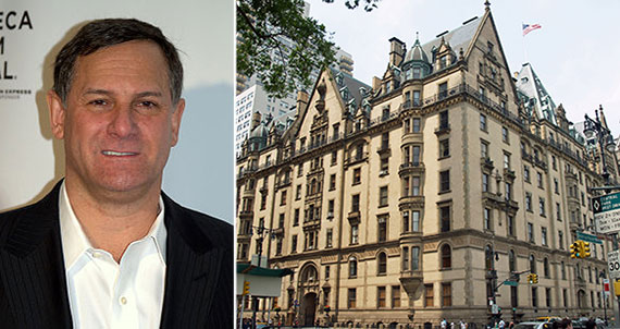 From left: Craig Hatkoff and the Dakota at 1 West 72nd Street