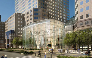 A rendering of Brookfield Place