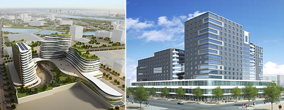 Designs for Two Fulton Square in Queens