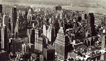 Midtown Manhattan in 1946