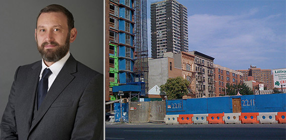 From left: HAP Development's Eran Polack and 2211-2217 Third Avenue