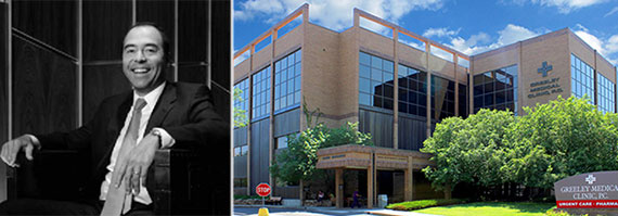 NorthStar CEO David Hamamoto and Griffin-American's Greeley Northern Colorado Medical Office Building