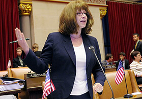 New York Assembly member Linda Rosenthal