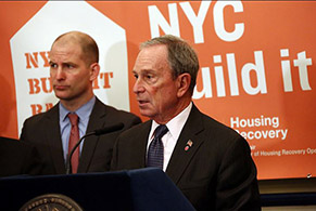 Former mayor Michael Bloomberg