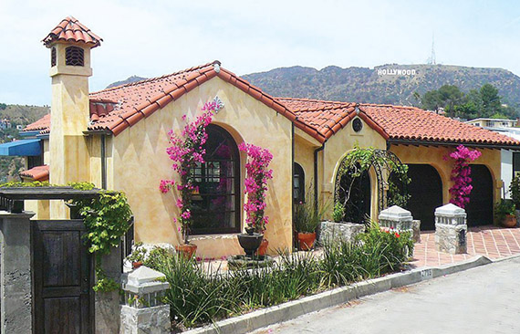 A home at 2719 Hollyridge Drive in Hollywood that is  $1.595M