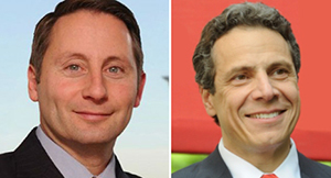 Rob Astorino and Gov. Andrew Cuomo