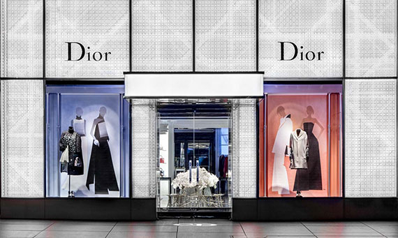 The Dior store on 57th Street