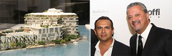 Ritz-Carlton Residences in Miami Beach and Ophir Sternberg and George Mato
