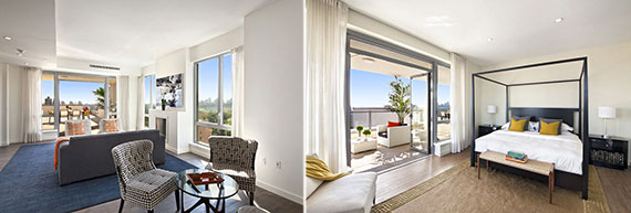 The penthouse at One Morningside Park in Harlem