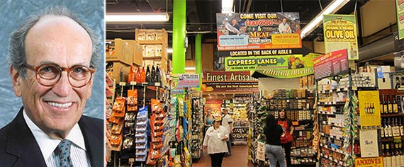 From left: Burt Resnick and Fairway Market
