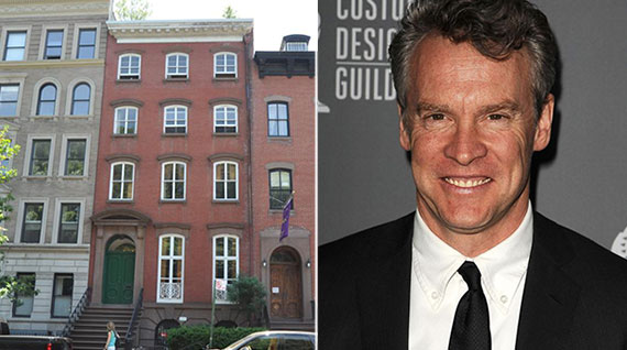 From left: 428 West 20th Street in Chelsea and Tate Donovan