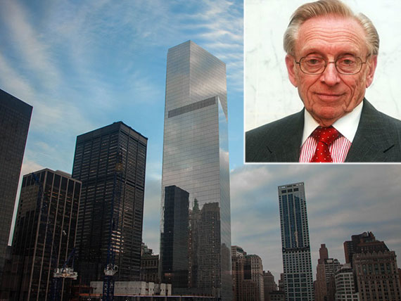 4 World Trade Center and Larry Silverstein