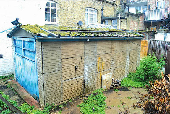 The shed on King's Road