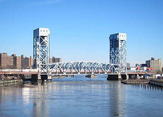The Harlem Lift Bridge