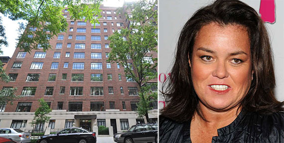 From left: 130 West 12th Street and Rosie O'Donnell