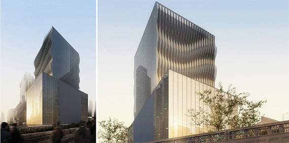 Renderings for 515 West 29th Street