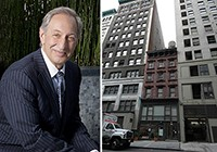 From left: Mark Geragos and 7 West 24th Street