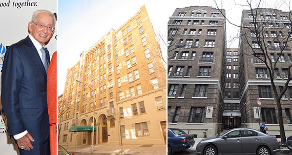 From left: Morton Olshan, 55 Clark Street in Brooklyn and 347 West 55th Street in Manhattan