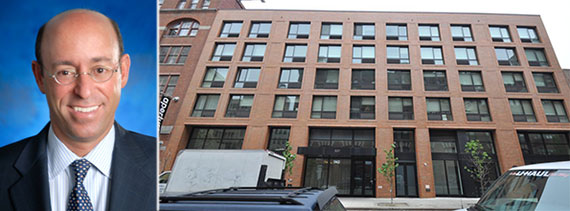 From left: Brian Ezratty and 537 West 27th Street