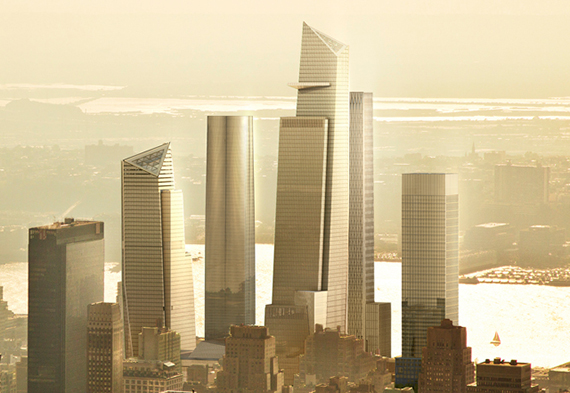 Rendering of Related Companies' Hudson Yards
