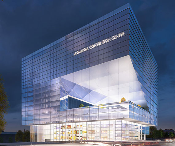 Rendering for the La Guardia Convention Center
