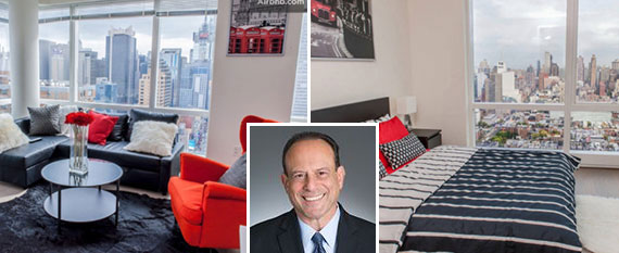 450 West 42nd Street in Hell's Kitchen and attorney Todd Nahins