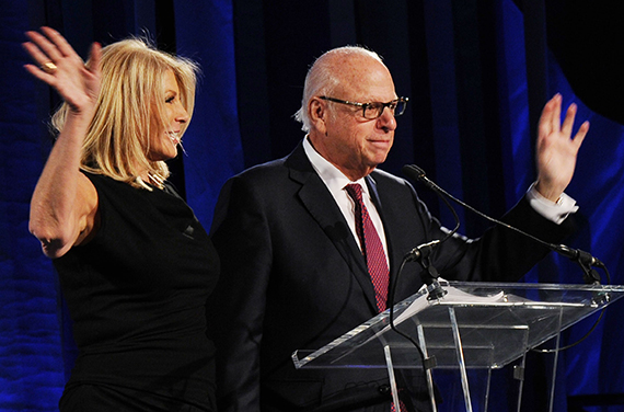 From left: Dottie Herman and Howard Lorber (Credit: Douglas Elliman)