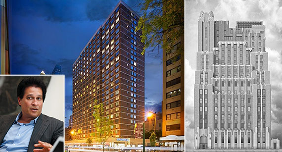 From left: Ziel Feldman, Fifty Third and Eighth and the Stella Tower