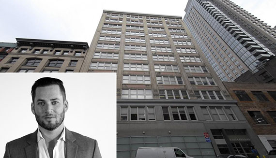 119-125 West 24th Street and Jason Saltzman (inset)